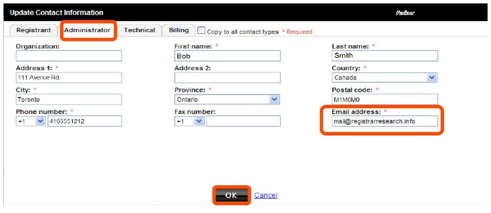 Transferring Your Domain to Doteasy (from GoDaddy) » Doteasy's ...