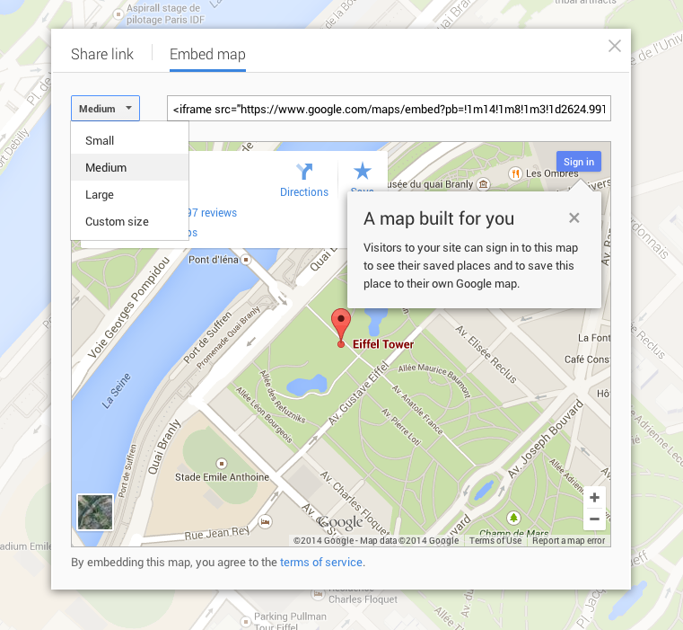 Site Map For Web Page: Adding Google Maps To A Website Page