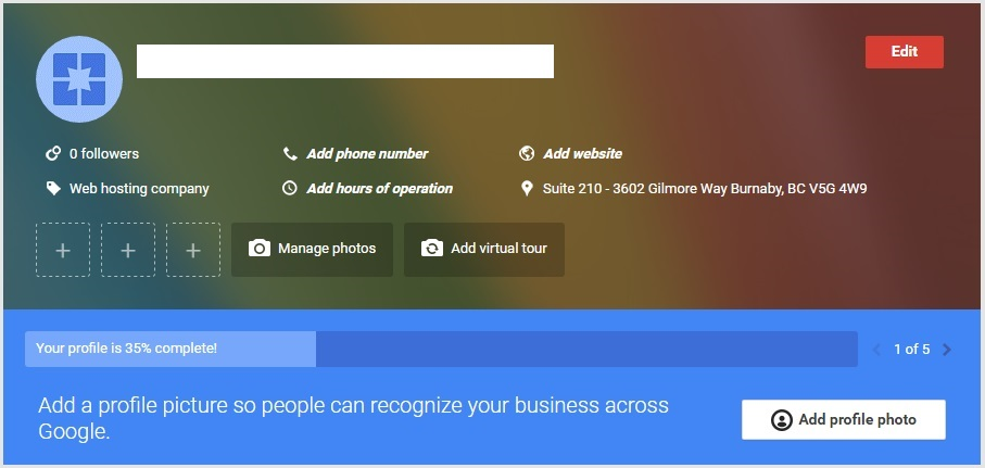 Google My Business Step 5